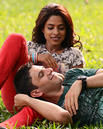 Sugandha Garg and arjun Mathur in Coffee Bloom