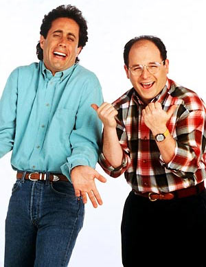 Jerry Senfield and Jason Alexander