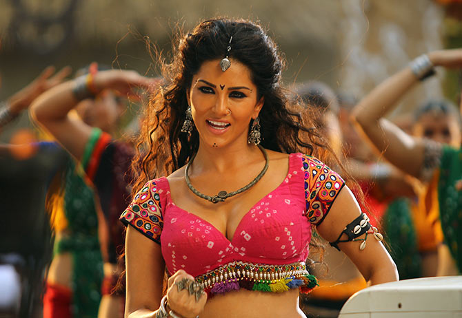 Sunny Leone in the soon-to-be-released Ek Paheli Leela