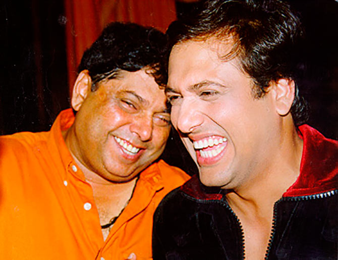 David Dhawan and Govinda