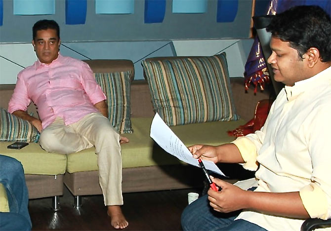 Kamal Haasan and M Ghibran