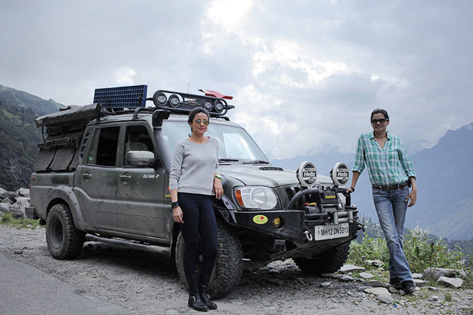 Off roading with Gul Panag