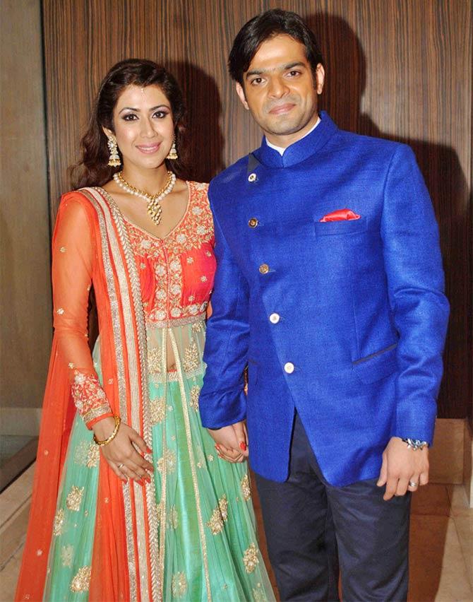 Current Bollywood News & Movies - Indian Movie Reviews, Hindi Music & Gossip - PIX: Karan Patel, Ankita Bhargava's sangeet ceremony