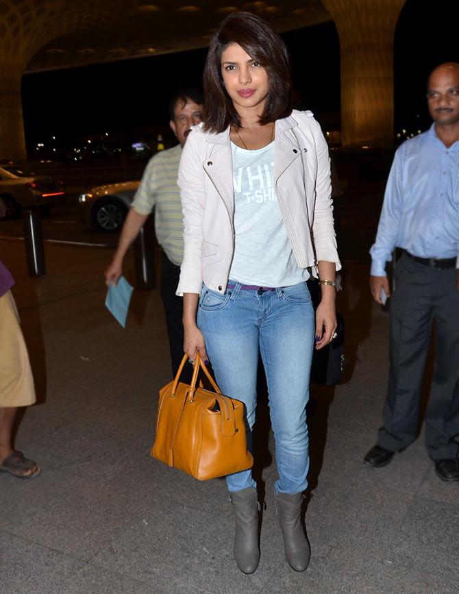 Spotted Katrina Priyanka At The Airport Movies