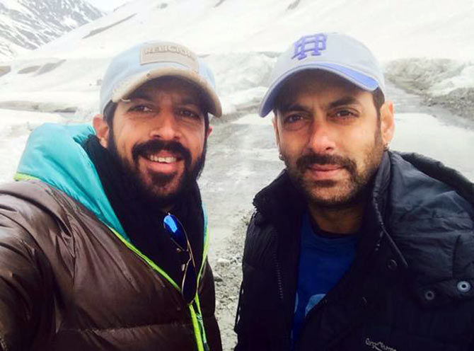 Kabir Khan and Salman Khan
