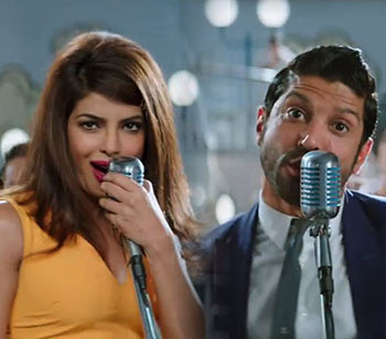 Priyanka Chopra and Farhan Akhtar in Dil Dhadakne Do