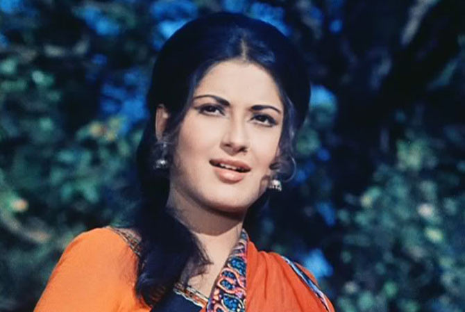 Moushumi Chatterjee. Source ~ rediff.com