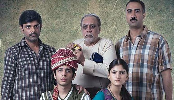 IMAGE: A scene from Kanu Behl's film Titli which revolved around a Hindu family in Delhi.