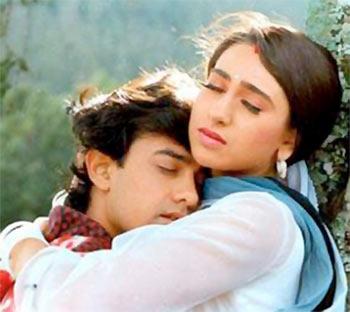 Quiz  Who was the original choice for Karisma     s role in Raja     Aamir Khan and Karisma Kapoor in Raja Hindustani