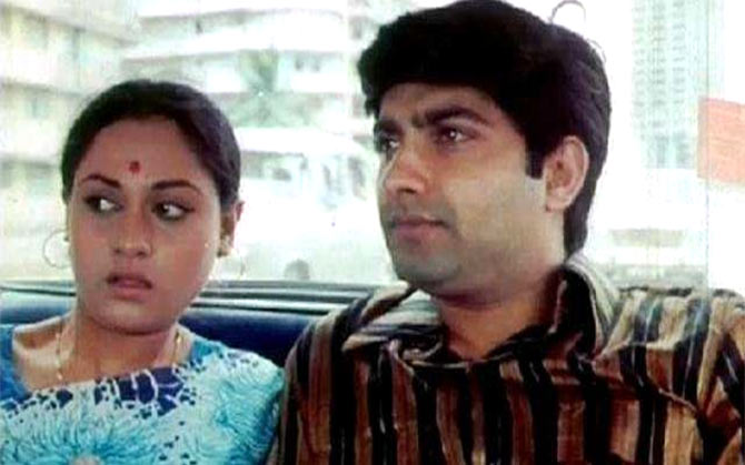 Jaya Bachchan and Anil Dhawan