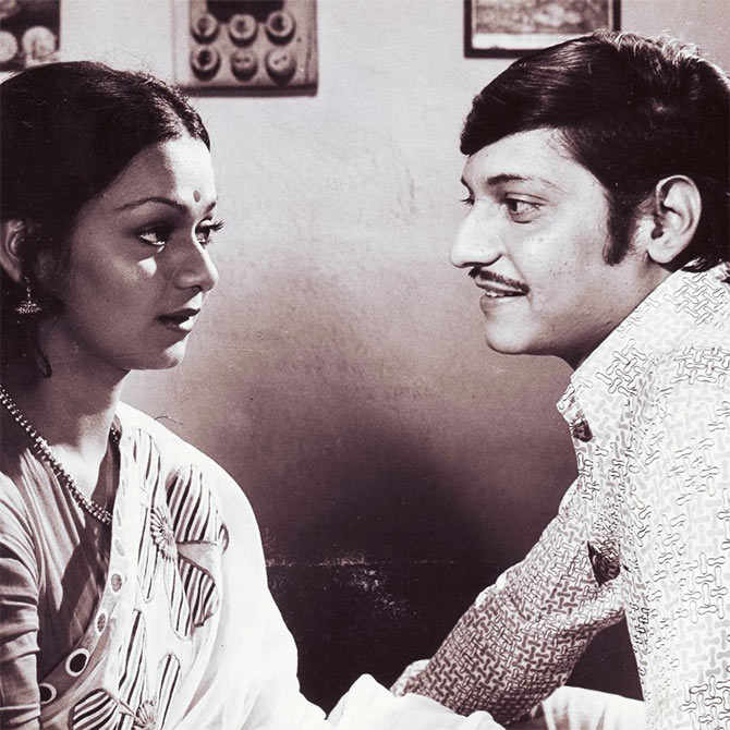 Zarina Wahab and Amol Palekar