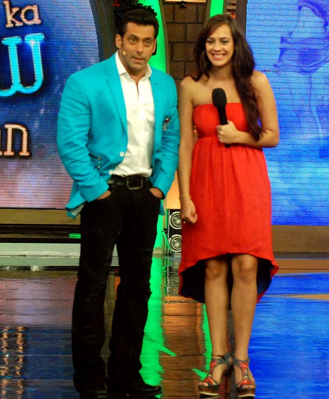 Salman Khan and Hazel Keech