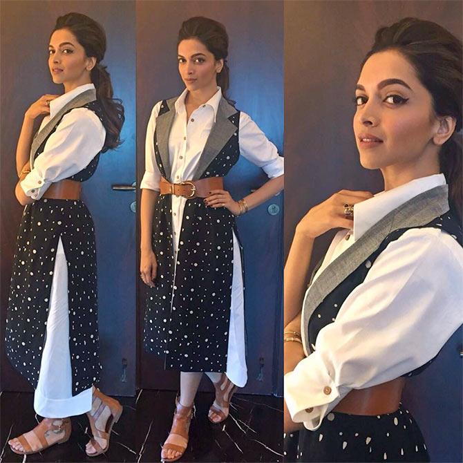 Deepika padukone in tamasha white dress