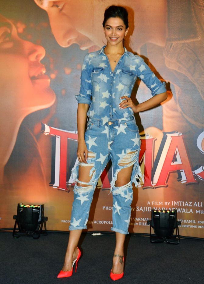 Rate Deepika's off-screen Tamasha outfits! - Rediff.com Movies