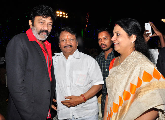 PIX: Sridevi, Chiranjeevi attend Jaya Prada's son's ...