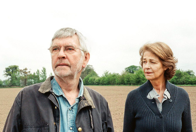 Charolette Rampling and Tom Courtenay in 45 Years.
