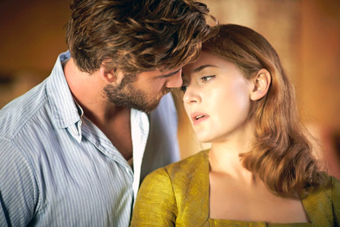 Kate Winslet and Liam Hemsworth in The Dressmaker.