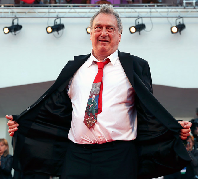 Director Stephen Frears at the Venice Film Festival, August 31, 2013