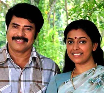 Mammootty and Jewel Mary in Pathemaari