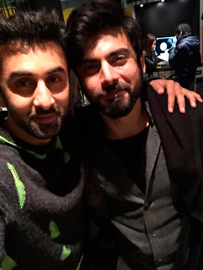 Ranbir Kapoor and Fawad Khan in Ae Dil Hai Mushkil