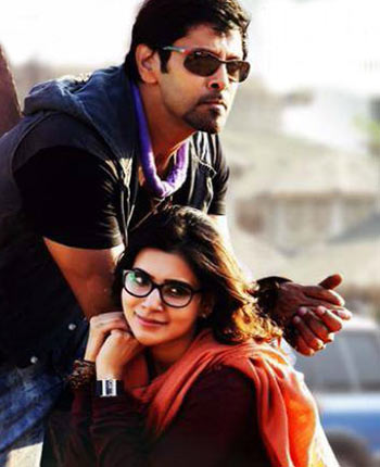 Vikram and Samantha Prabhu in 10 Endrathukulla