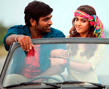 A scene from Naanum Rowdy Dhaan