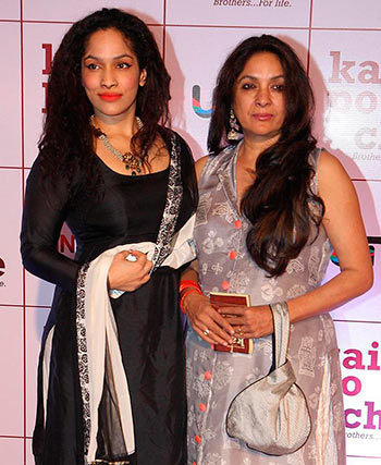 Masaba with her mother Neena Gupta