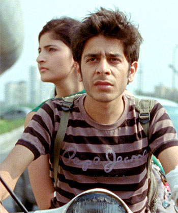 Shivani Raghuvanshi and Shashank Arora in Titli
