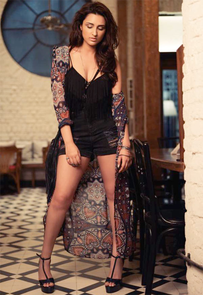 Current Bollywood News & Movies - Indian Movie Reviews, Hindi Music & Gossip - IMAGE: Parineeti's HOT new photoshoot