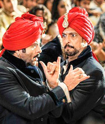 Anil Kapoor and Nana Patekar in Welcome Back