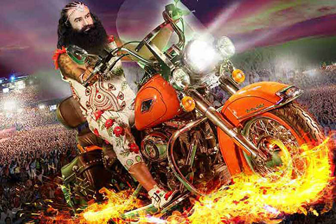 Image result for gurmit ram rahim