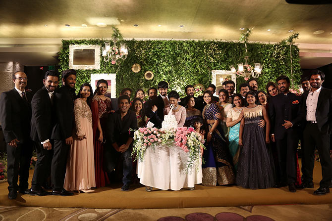 Sreeja wedding reception