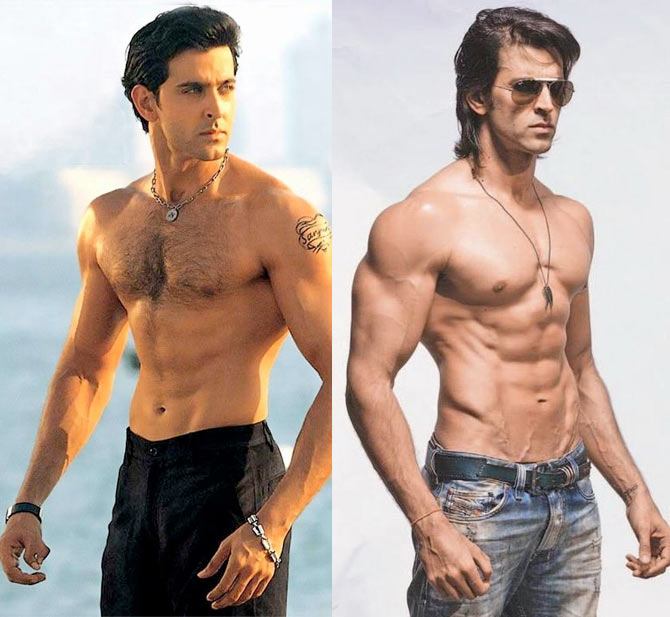 Salman, Hrithik, John: Then and Now! - Rediff.com Movies
