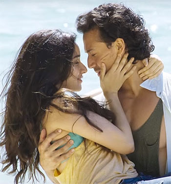 Shraddha Kapoor and Tiger Shroff in Baaghi