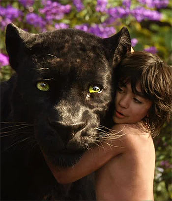 Neel Sethi in The Jungle Book