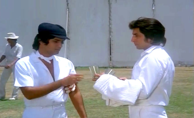 Kumar Gaurav and Shakti Kapoor