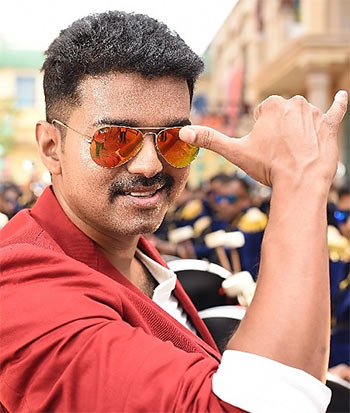 Review Theri Will Thrill Vijays Fans Rediff Movies