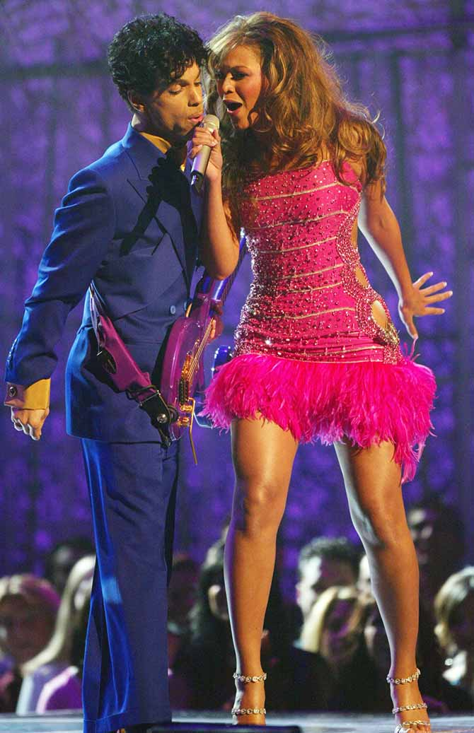 Image result for prince and beyonce