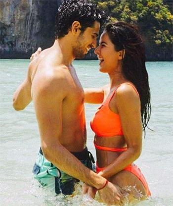 Siddharth Malhotra and Katrina Kaif in Baar Baar Dekho