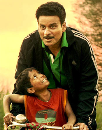 Manoj Bajpayee and Mayur Patole in Budhia Singh: Born to Run