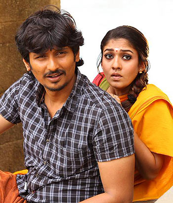 Jiiva and Nayanthara in Thirunaal