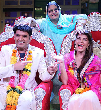 Current Bollywood News & Movies - Indian Movie Reviews, Hindi Music & Gossip - Kapil Sharma gets married to Jacqueline!
