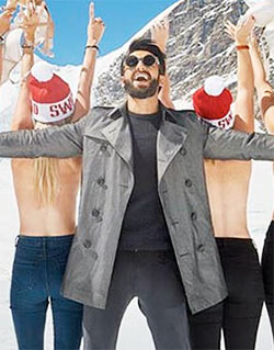 Current Bollywood News & Movies - Indian Movie Reviews, Hindi Music & Gossip - PIX: Ranveer's AMAZING Swiss holiday