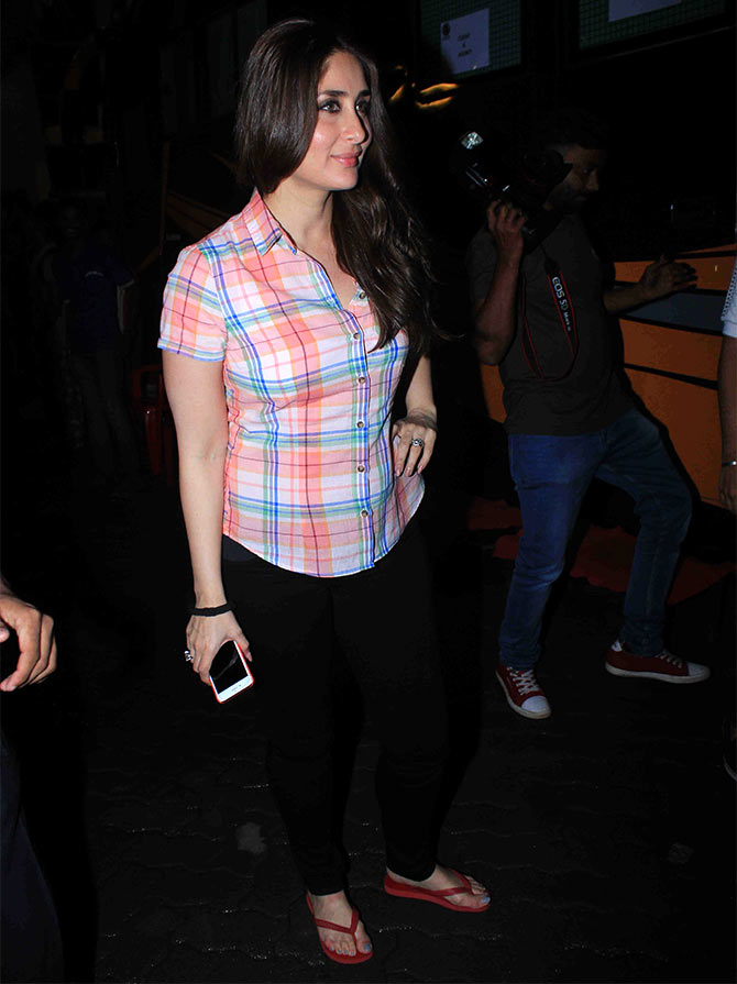 Kareena's most STYLISH pregnant look? VOTE! - Rediff.com ...