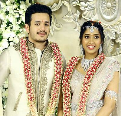 Current Bollywood News & Movies - Indian Movie Reviews, Hindi Music & Gossip - PIX: Nagarjuna's son Akhil gets engaged