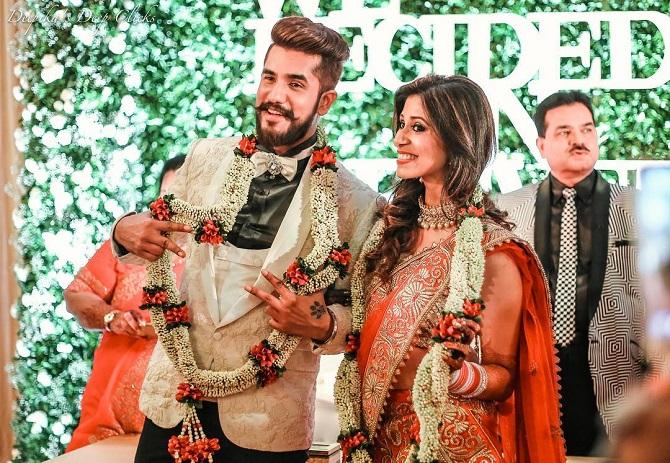 Image result for suyyash kishwer wedding pics