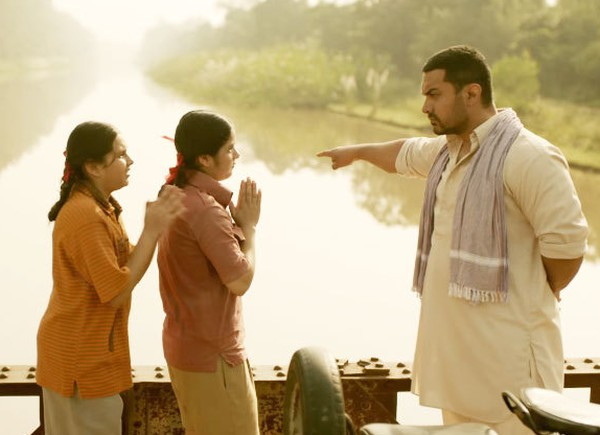 There is no respite from the training in Dangal