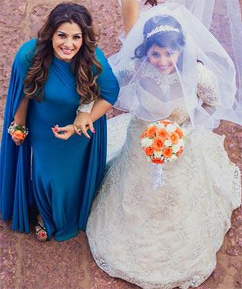 Current Bollywood News & Movies - Indian Movie Reviews, Hindi Music & Gossip - PIX: Raveena Tandon's daughter Chhaya gets married!