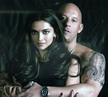 Current Bollywood News & Movies - Indian Movie Reviews, Hindi Music & Gossip - Vin Diesel shares Deepika's first look from xXx 3