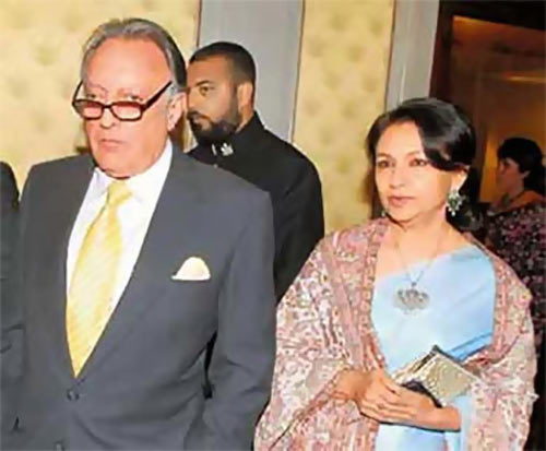 Mansoor Ali Khan Pataudi and Sharmila Tagore